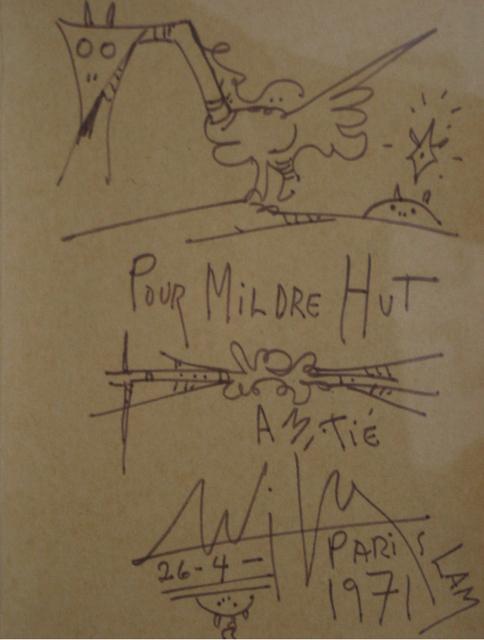 Wifredo Lam, 'Pour Mildre Hut', 1971, Caiman Contemporary