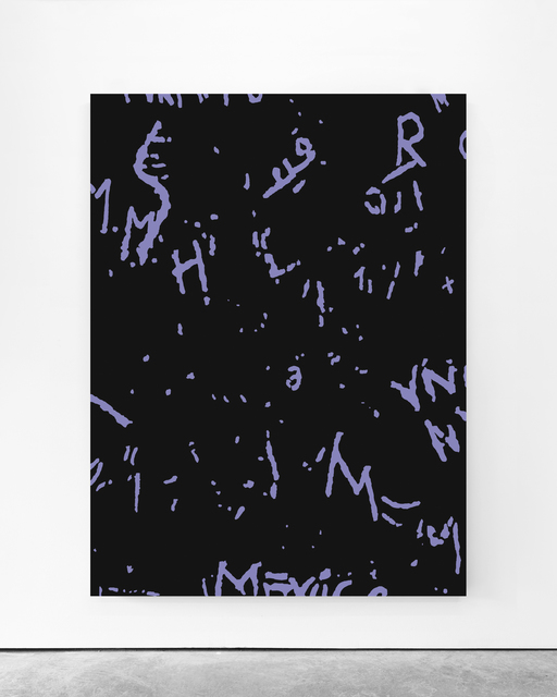 Pedro Matos, 'Untitled ', 2020, Painting, Acrylic enamel on unprimed cotton canvas, Galleria Bianconi