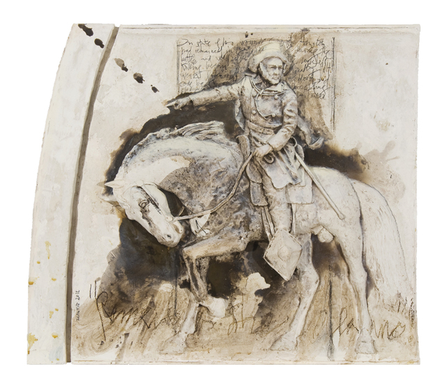 , 'General Sam Houston (From a Portrait by Stephen Seymour Thomas),' 2012, Valley House Gallery & Sculpture Garden