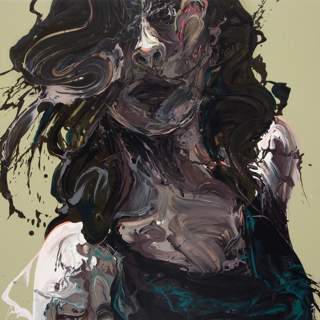 , 'Transcription 56 (She),' 2018, Joseph Nease Gallery