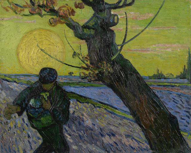 , 'The Sower,' 1888, Van Gogh Museum