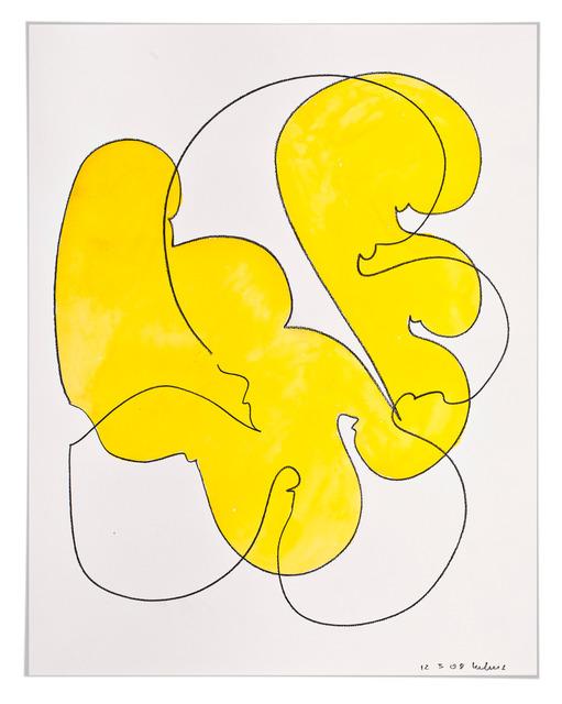 , 'Farbstück (gelb),' 2008, Galerie Judith Andreae