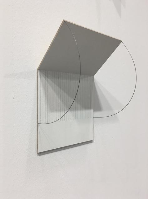 , 'Folding Drawing #17,' 2019, Sabrina Amrani