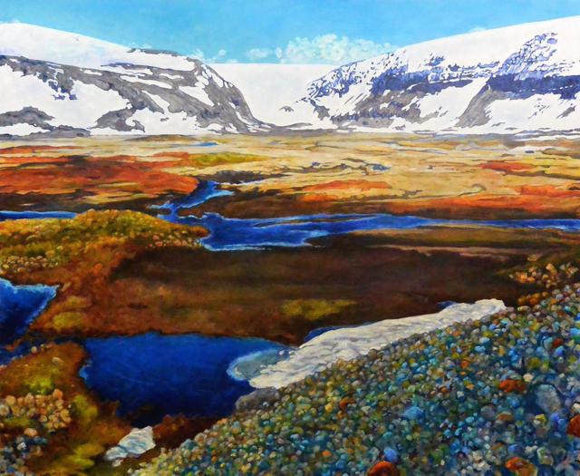 , 'Drangajökull,' 2017, HATHAWAY | Contemporary Gallery