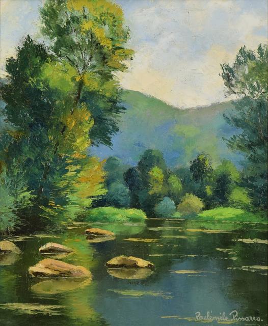 Paul-Emile Pissarro, 'Les Pierres dans l'Orne', 20th century, Stern Pissarro