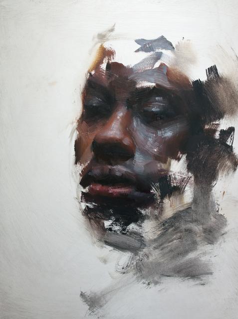 Henrik Aarrestad Uldalen, 'Sketch #91', 2020, Painting, Oil on wood, JD Malat Gallery