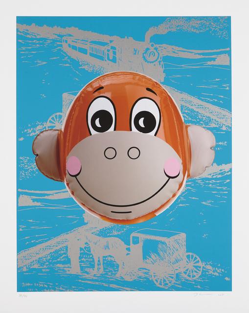 Jeff Koons, 'Monkey Train (Blue)', 2007, Phillips