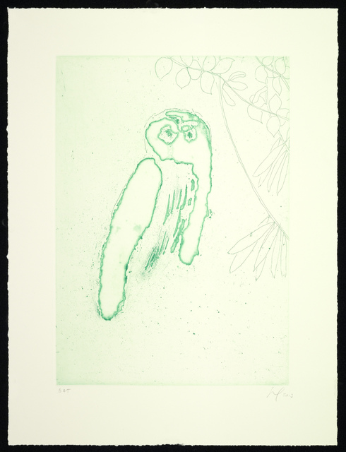 , 'Owl (Boscoe),' 2013, Two Palms