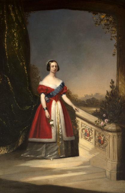 , 'Portrait of Queen Victoria,' 1842, Ben Uri Gallery and Museum