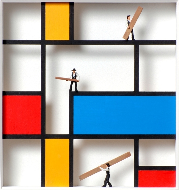 , 'Homage to Mondrian,' , Artima