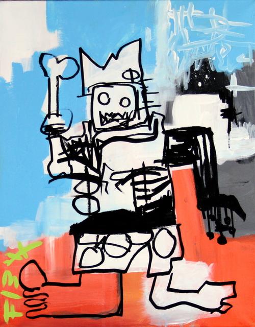 , 'Basquiat,' 2017, Bitfactory Gallery