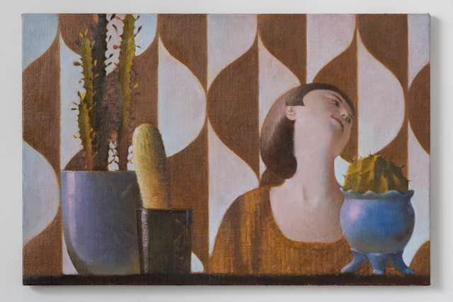 , 'Holly and Cacti,' 2014, BolteLang