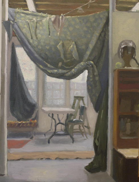 , 'Studio with Quilt as Curtain,' , Dowling Walsh