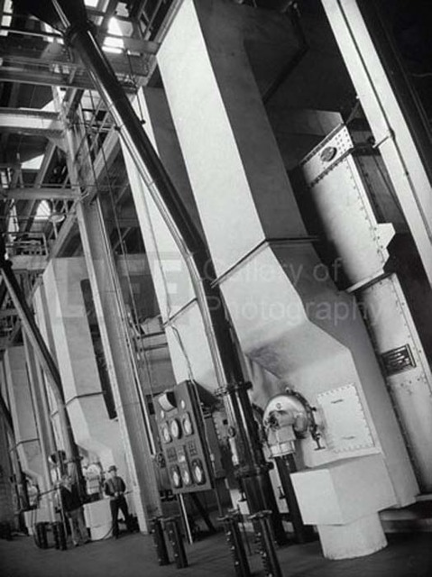 Margaret Bourke-White, 'Steam Boilers at the Industrial Rayon Corp Factory', 1939, Contessa Gallery