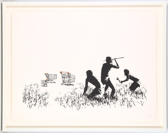 Banksy, 'Trolleys', 2007, Chiswick Auctions