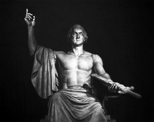 , 'George Washington,' 2016, Victor Lope Arte Contemporaneo