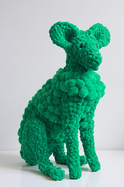 , 'green plant eater,' 2017, MARS