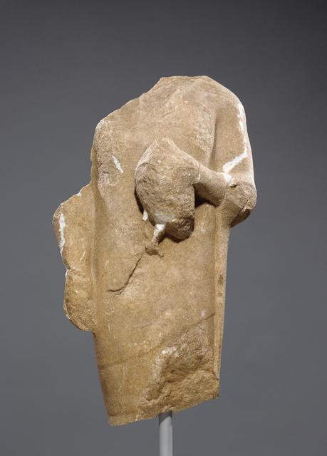 'Torso of a Kouros', 550 -525 BCE, J. Paul Getty Museum