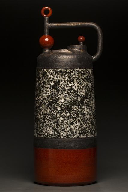 , 'Tall Red Cylindrical ,' 2017, Studio 21 Fine Art