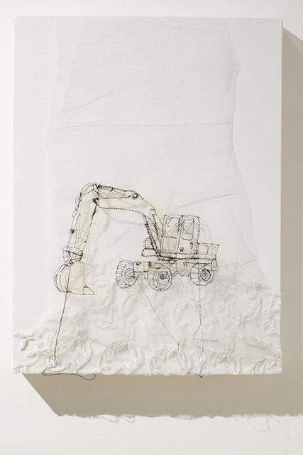 , 'Pelle hydrolique,' 2015, Art Mûr