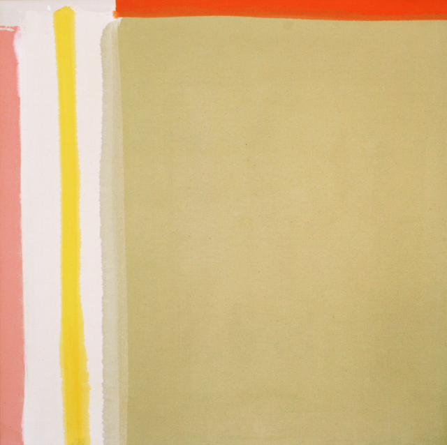 , 'Yellow Reach,' 1964, Wallace Galleries