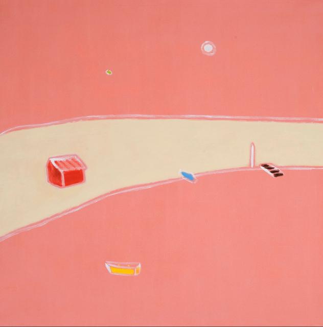 , 'Peach Square,' 2007, Nikola Rukaj Gallery
