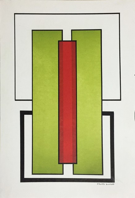 , 'Untitled, from the series 'Mondrian',' 1985, Galeria Superfície