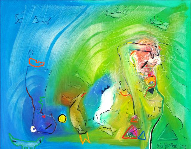 , 'Burning Heart,' 2010, Walter Wickiser Gallery