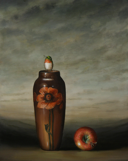 , 'Vase and Apple,' 2009, Lisa Sette Gallery