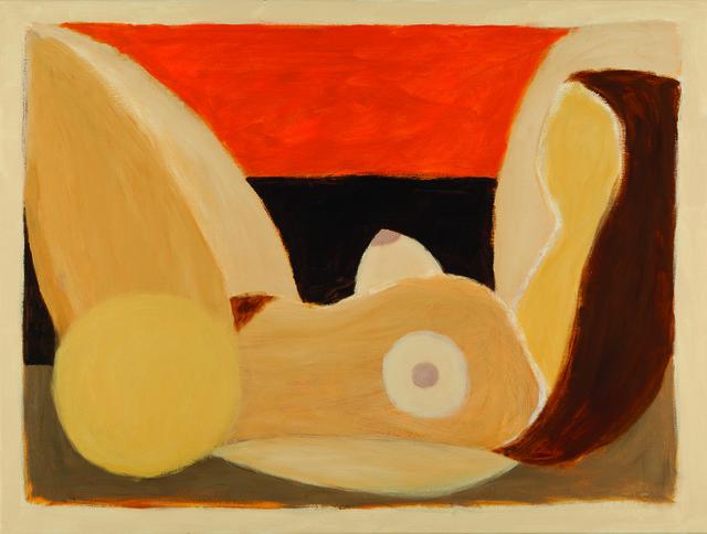 , 'Reclining Nude,' 2009, Pangolin