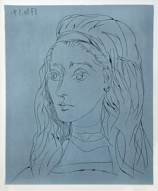 Pablo Picasso, 'Jacqueline', 1959, Gallery Neptune & Brown