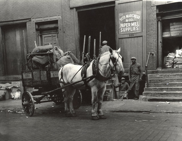 , 'Work Horses, Greenwich Village, New York City,' 1930s, Charles Schwartz Ltd.