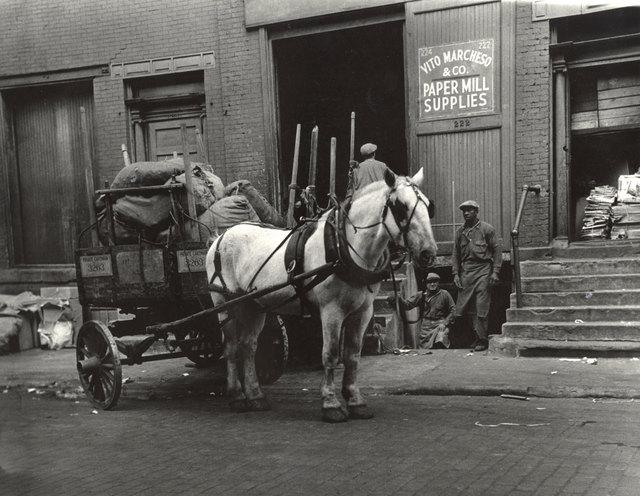 , 'Work Horses, Greenwich Village, New York City,' 1930s, Charles Schwartz Ltd.