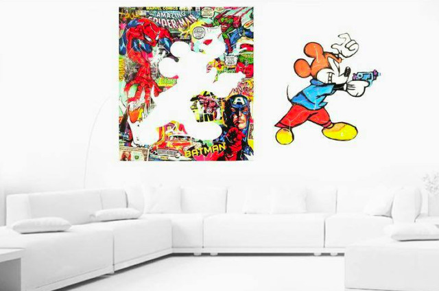 , '(ATH) Diptych: Superhero Mickey,' 2016, ARTION GALLERIES