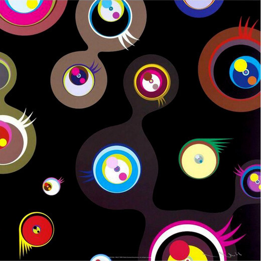 Takashi Murakami, 'Jellyfish black 2', 2010, Gallery TAGBOAT