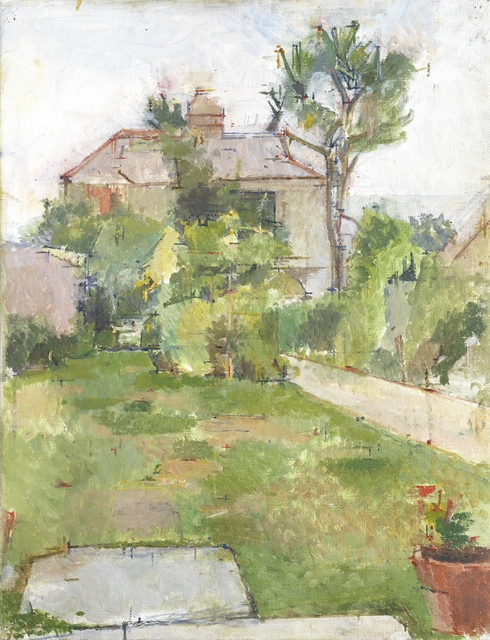 , 'Garden in Falmouth,' 1977, Piano Nobile