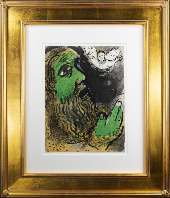 Marc Chagall, 'Job en Prière (Job Praying), M 253/276', 1960, David Barnett Gallery