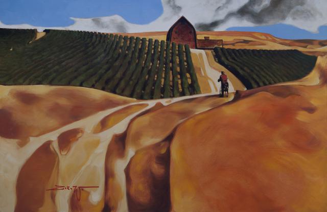 , 'Cyclist Overlook,' 2017, Patricia Rovzar Gallery