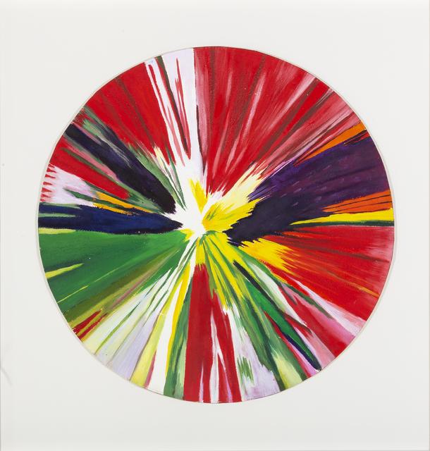 Damien Hirst, 'Circle spin painting', 2009, Studio Guastalla