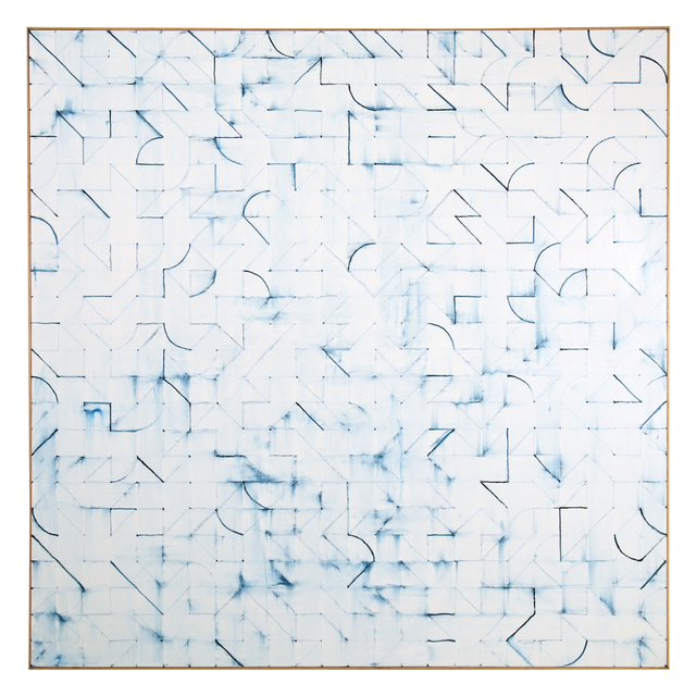 Power Boothe, 'Blue Arc', 2013, FRED.GIAMPIETRO Gallery
