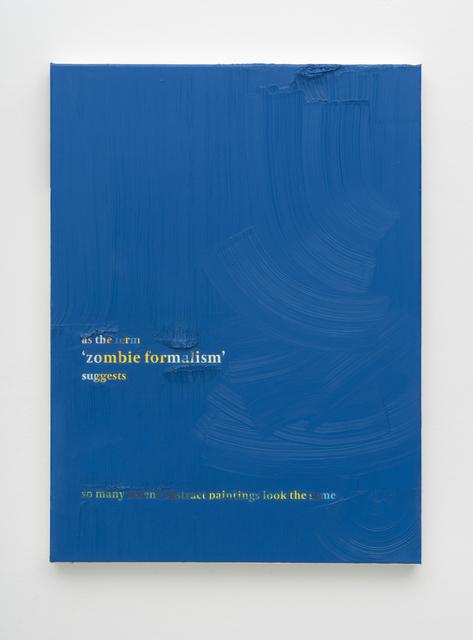 , 'Frieze no. 169,' 2017, PPC Philipp Pflug Contemporary