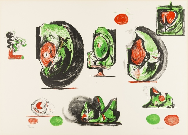 Graham Sutherland, 'Study Boards (Tassi 116)', 1971, Forum Auctions