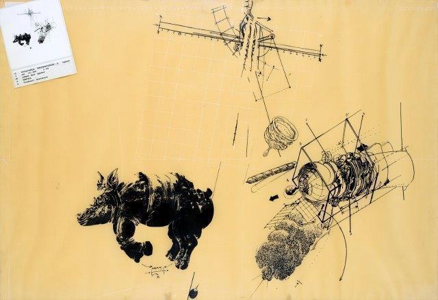 Vladimir Velickovic, 'Rhinocéros 5', Digard Auction