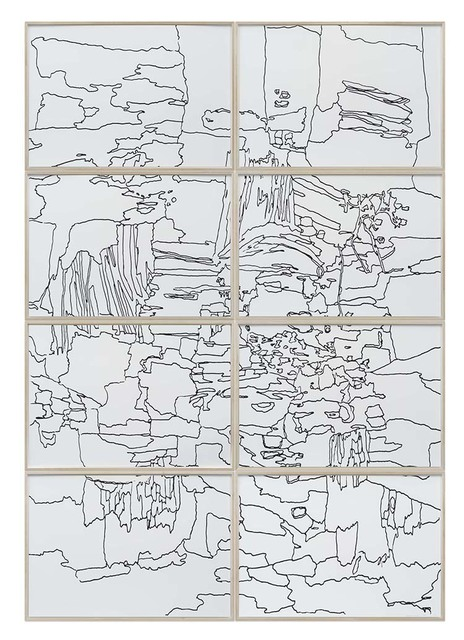 Andreas Eriksson, 'Sketch for unfinished painting', 2017, Hakgojae Gallery