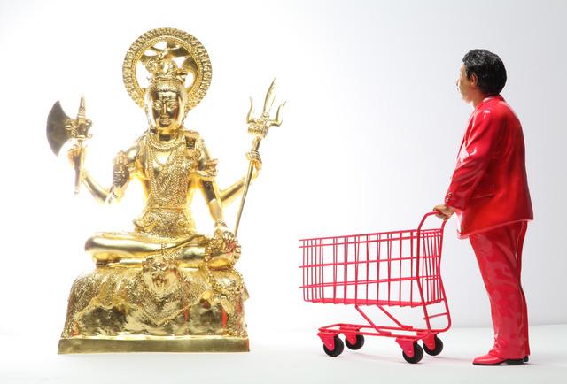 , 'Pink Man Meets Lord Shiva,' 2013, Yavuz Gallery