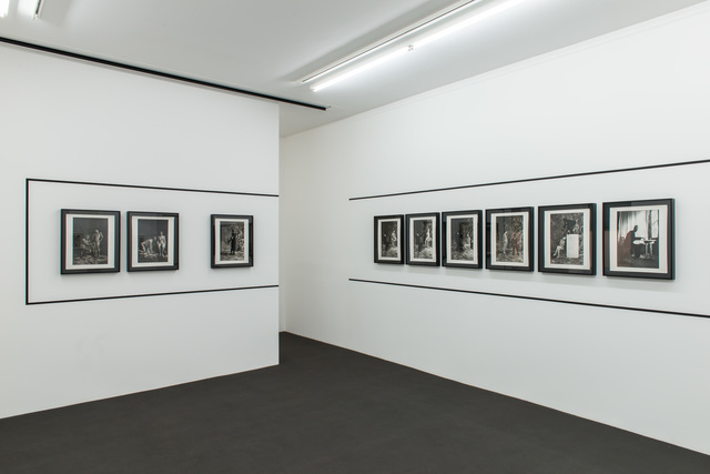 ", 'Installation view ""From the ferryman's notebook"",' 2015, Kehrer Galerie"