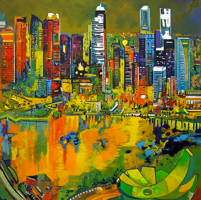 , 'ArtScience Museum,' 2014, Barnadas Huang