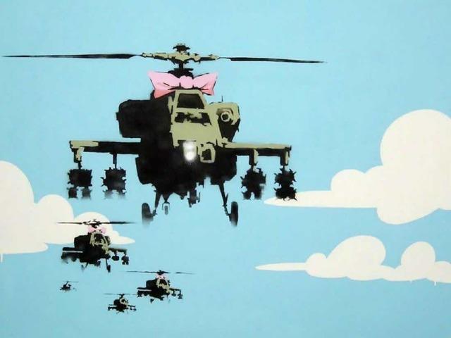 Banksy, 'Happy Choppers', 2003, Leviton Fine Art