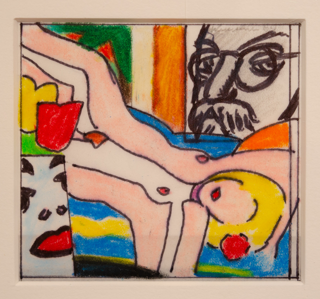 , 'Study for Sunset Nude with Picasso Vase,' 2004, David Benrimon Fine Art