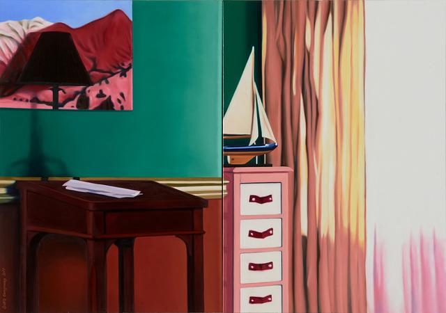 , '35 (a Model Yacht),' 2017, Gallery BK